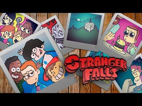 Abertura De Gravity Falls Ao Estilo De Stranger Things Zona Nerd